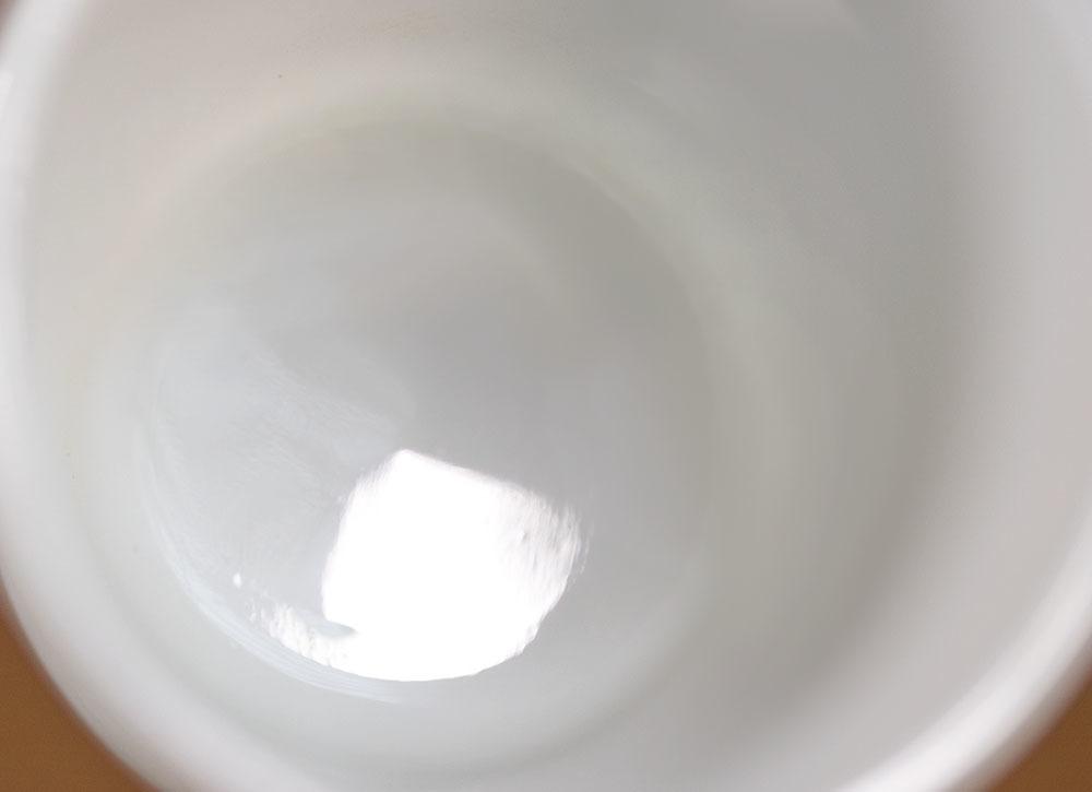 ファイヤーキング マグ ホワイト Dハンドル 耐熱 ミルクグラス コーヒー ティー ココア ビンテージ アメリカ製 キッチン雑貨_画像4
