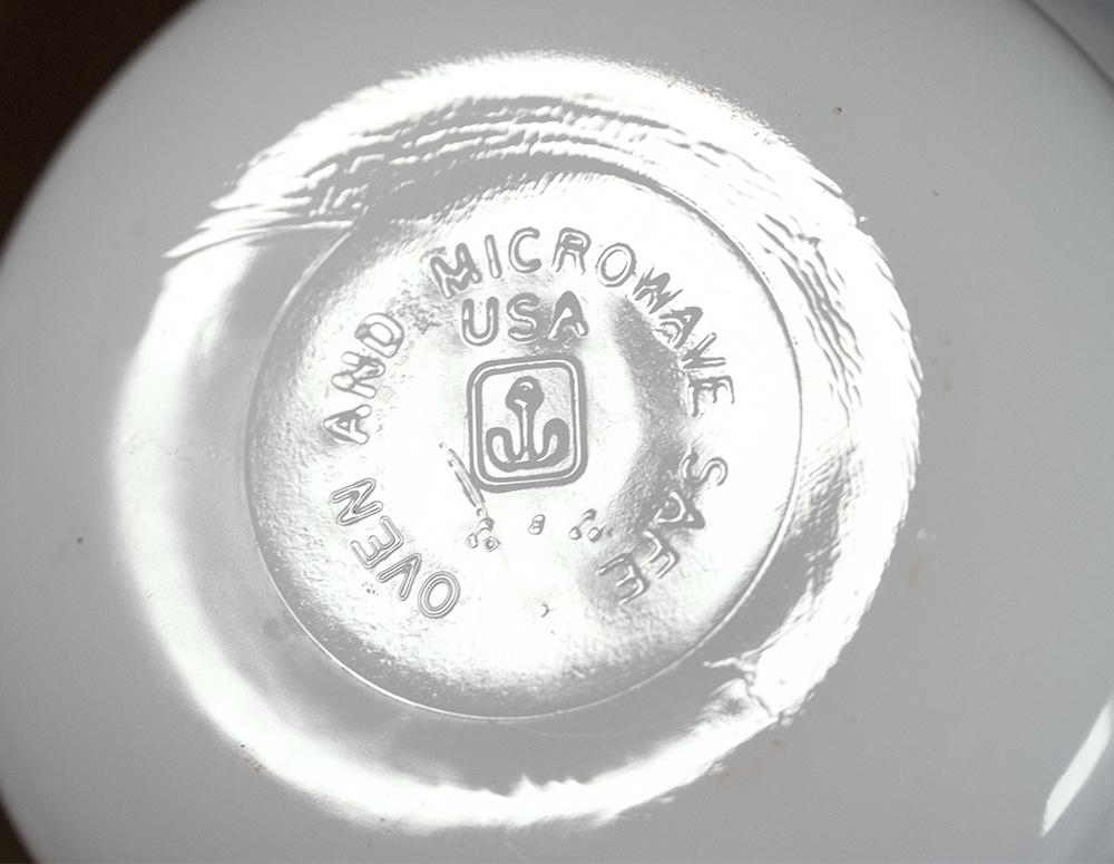 ファイヤーキング カスタードカップ ミルクホワイト 4個セット 耐熱 デザートカップ ビンテージ アメリカ製_画像3