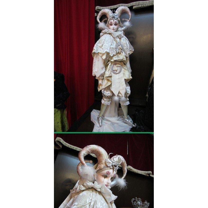 【限定1体】白い牧神のピエロ_画像1