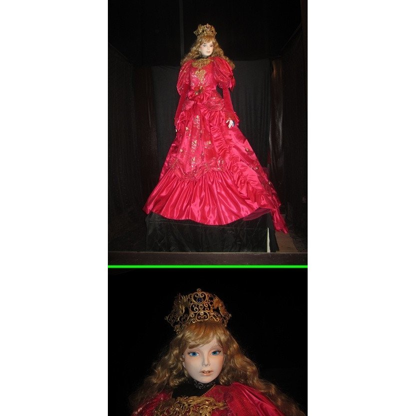 【限定1体】赤いドレスの淑女_画像1