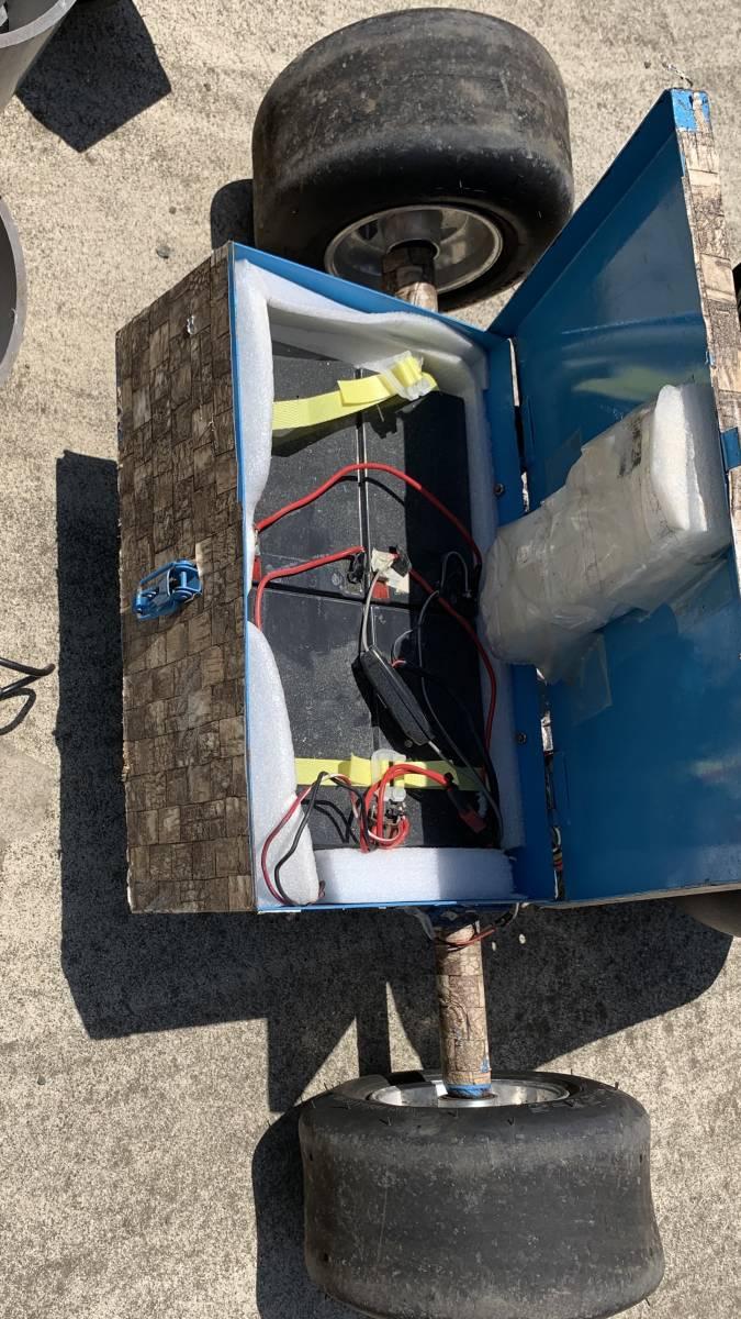 電動キックボード 電動 ドリフト トライク 直接引き取り限定 千葉市 フルセット 電動 スケート ボード_画像5