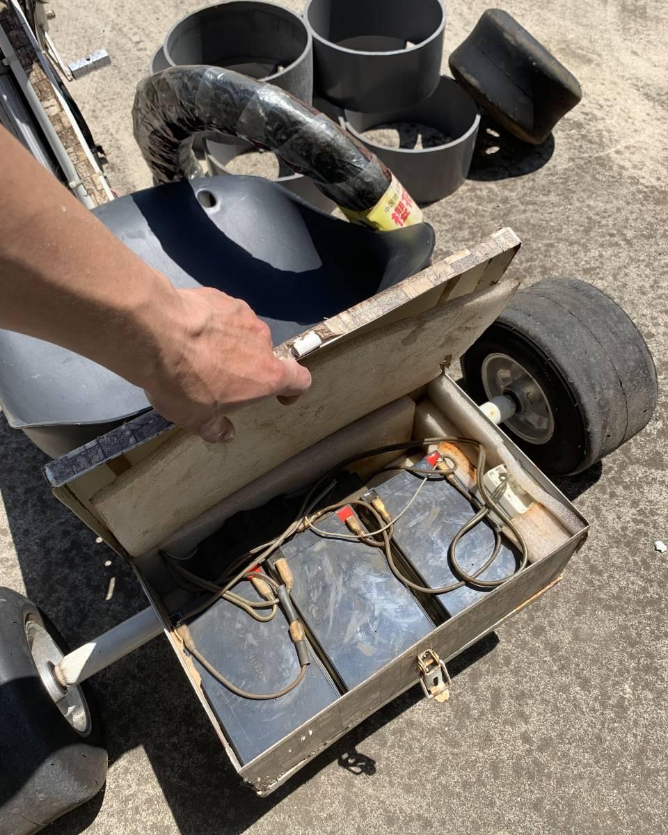 ドリフト トライク フル電動 自転車 ゴーカート 引き取り限定 画像全て クロスバイク 電動 スケート ボード キックボード 千葉市_画像5