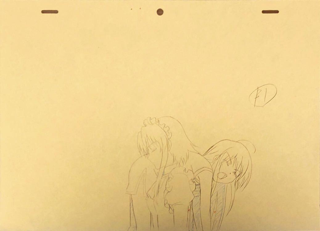 アニメ「灼眼のシャナ」原画・動画・修正セット 80枚_画像4