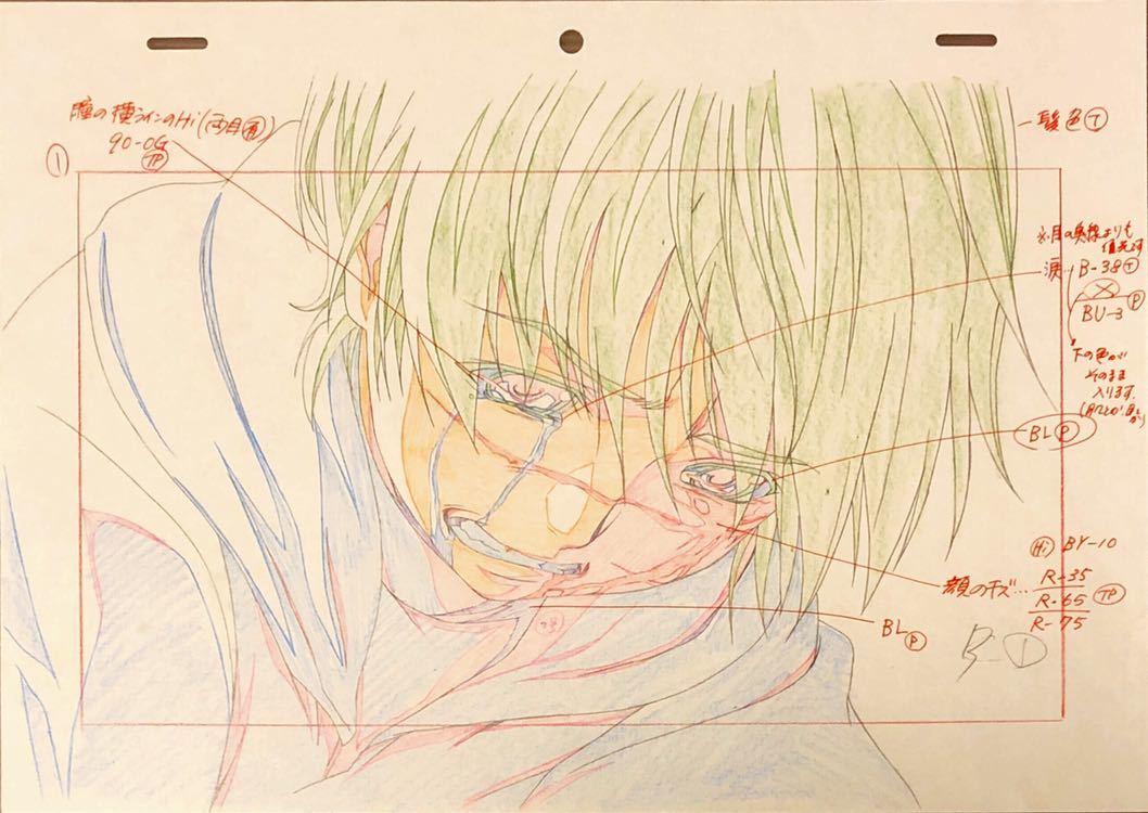 アニメ「聖痕のクェイサー」OP 原画・動画・修正・レイアウト等セット 83枚
