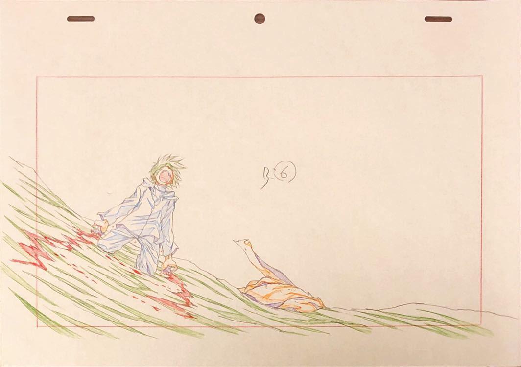 アニメ「聖痕のクェイサー」OP 原画・動画・修正・レイアウト等セット 83枚_画像6