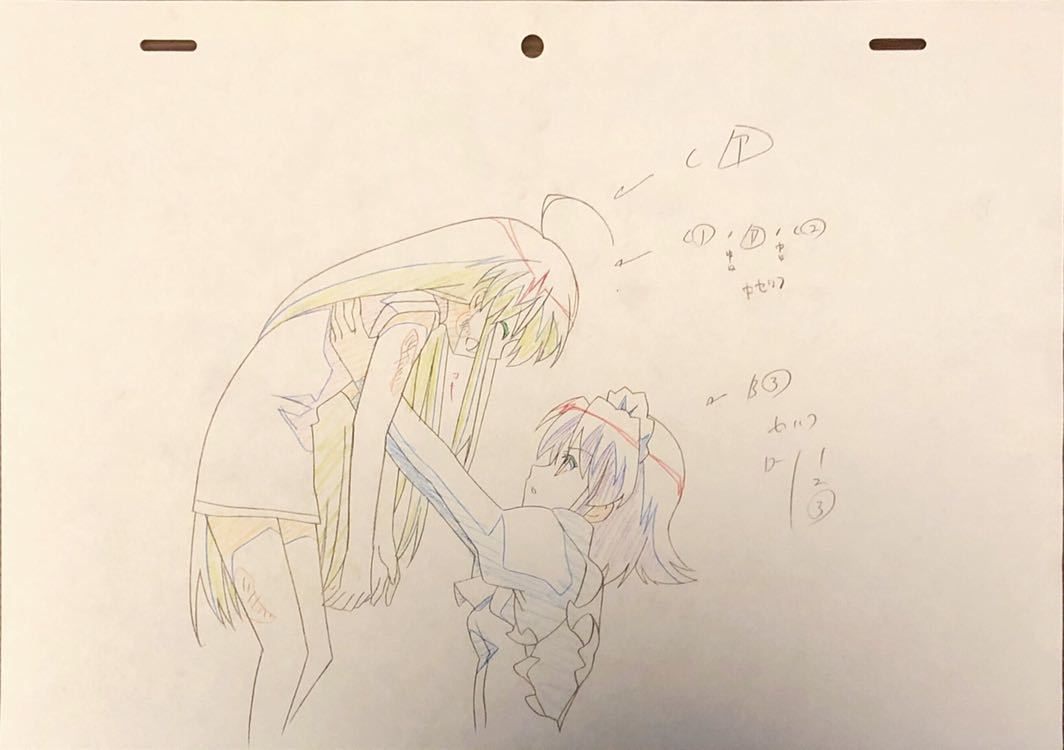 アニメ「灼眼のシャナ」原画・動画・修正セット 80枚
