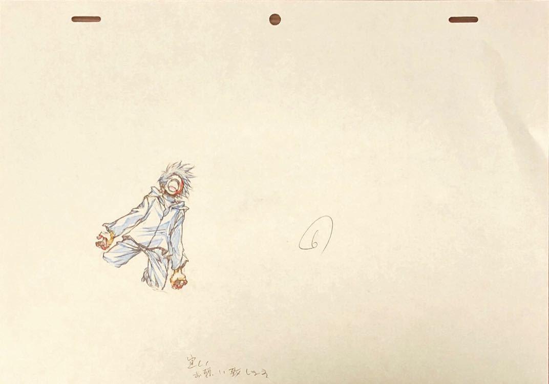 アニメ「聖痕のクェイサー」OP 原画・動画・修正・レイアウト等セット 83枚_画像9