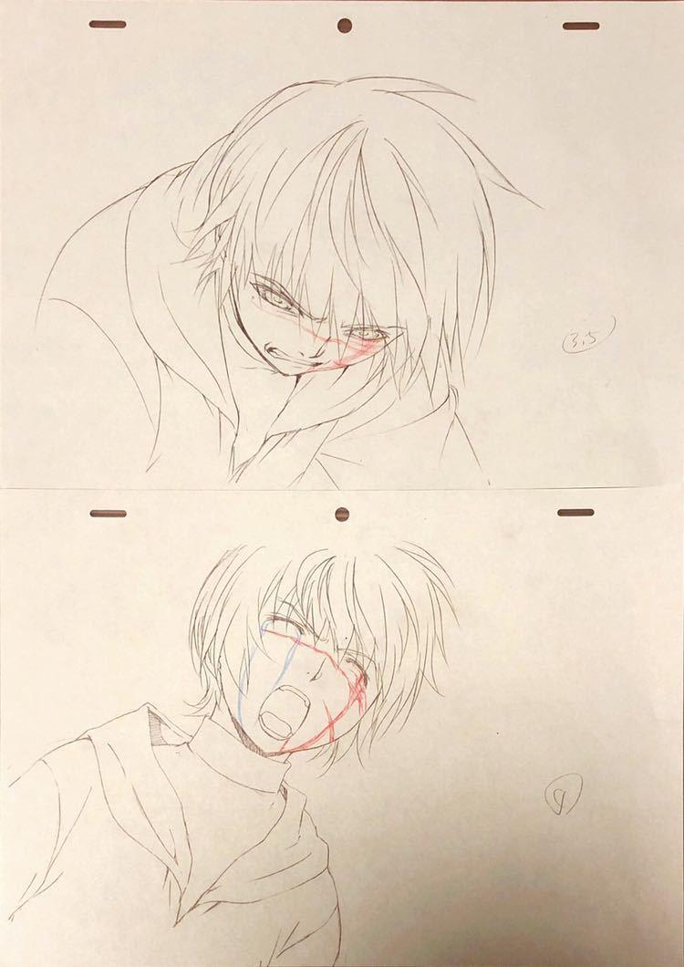 アニメ「聖痕のクェイサー」OP 原画・動画・修正・レイアウト等セット 83枚_画像8