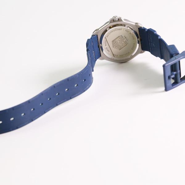 1円~ TAG HEUER タグホイヤー フォーミュラ1 WA1210 回転ベゼル デイト クオーツ メンズ 腕時計 中古 _画像3