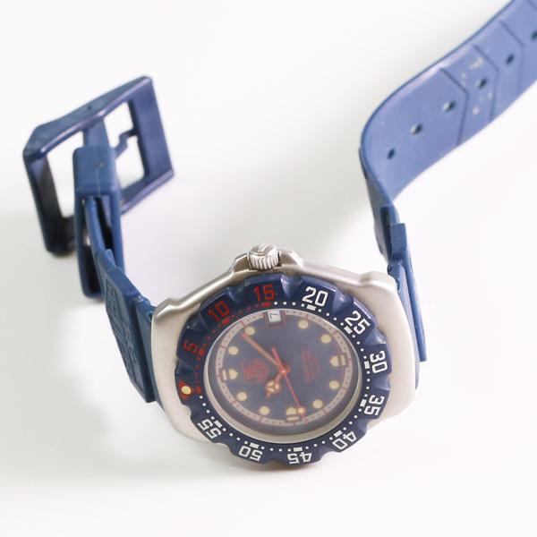 1円~ TAG HEUER タグホイヤー フォーミュラ1 WA1210 回転ベゼル デイト クオーツ メンズ 腕時計 中古 _画像2