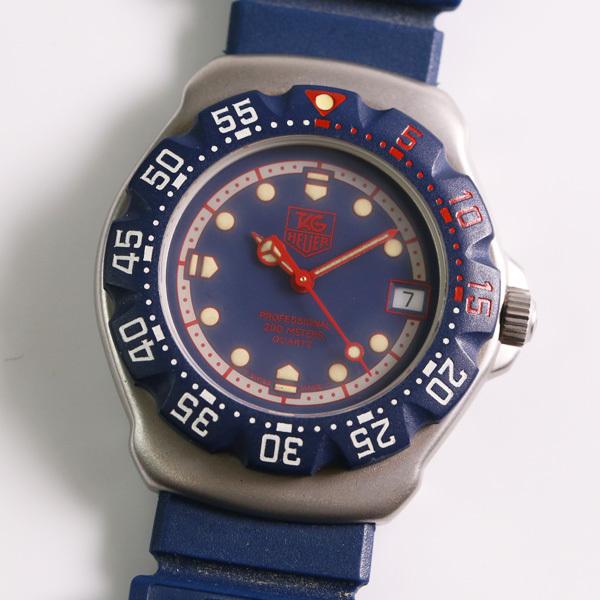 1円~ TAG HEUER タグホイヤー フォーミュラ1 WA1210 回転ベゼル デイト クオーツ メンズ 腕時計 中古