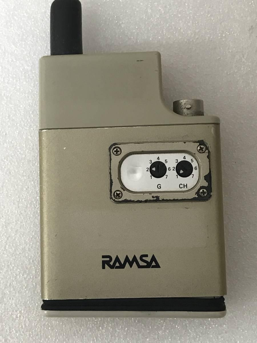 【良品】Panasonic RAMSA WX-TB830 B帯 800MHz ワイヤレスマイクロホン×2 セット 単三アルカリ乾電池仕様 動作品_画像2
