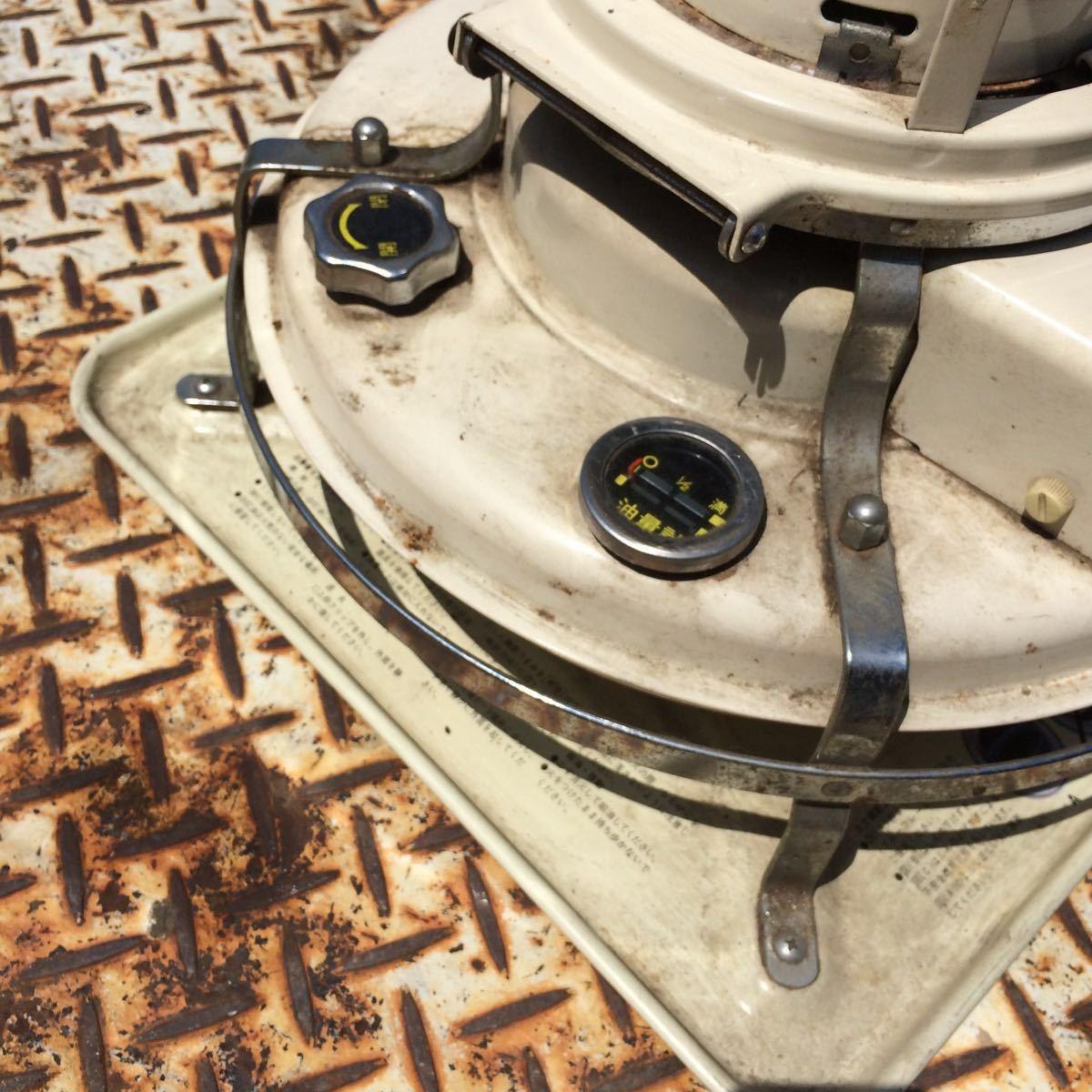 Aladdin アラジン 石油ストーブ J390001 上下式対流型 昭和レトロ アンティーク4.1L【ジャンク品】_画像4