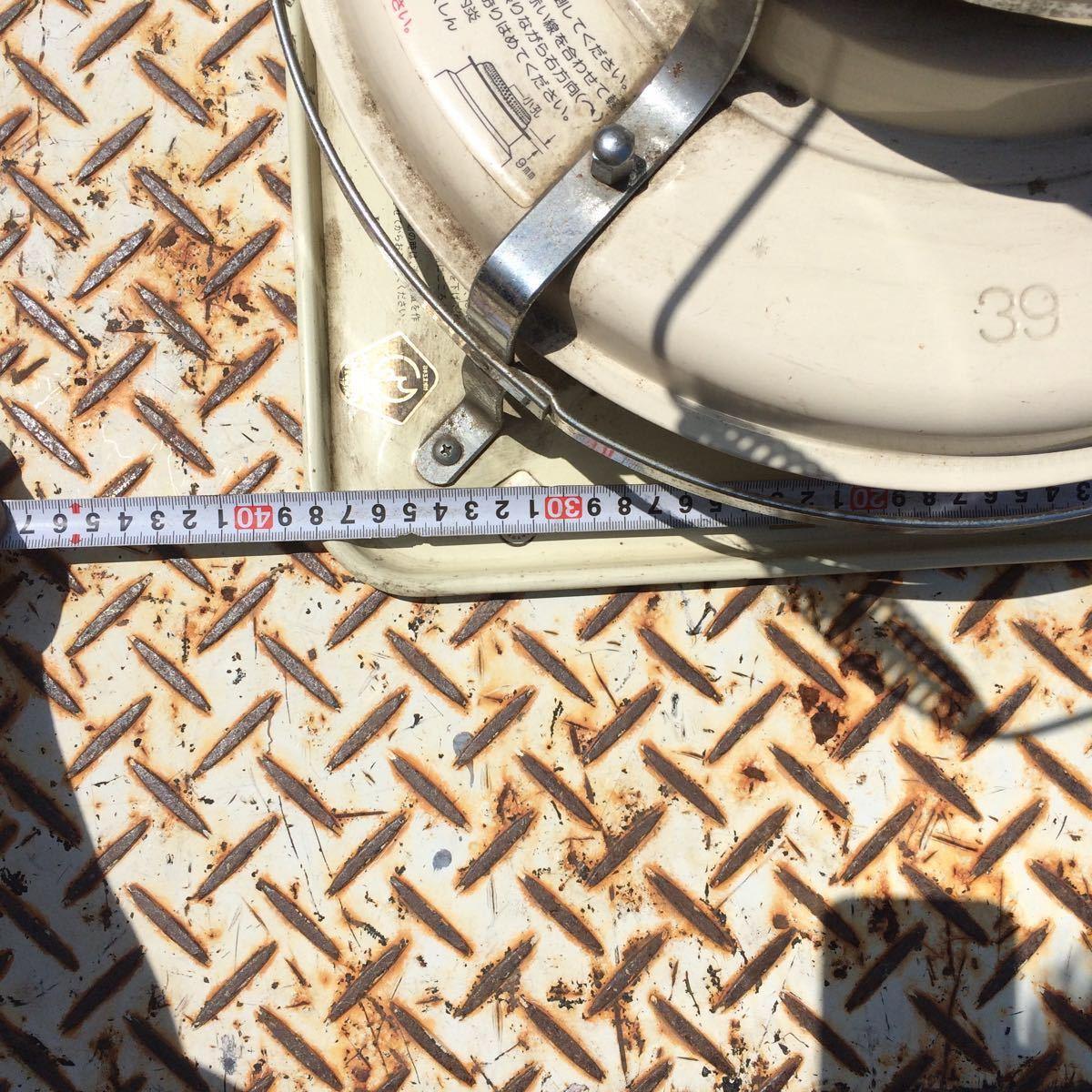 Aladdin アラジン 石油ストーブ J390001 上下式対流型 昭和レトロ アンティーク4.1L【ジャンク品】_画像8