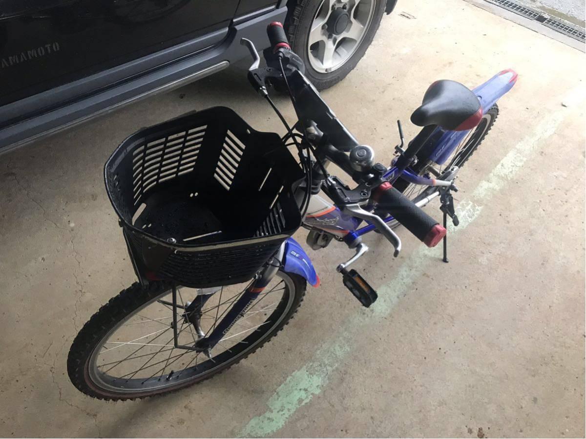 ブリジストン 子供 自転車 青 埼玉県 22インチ_画像2