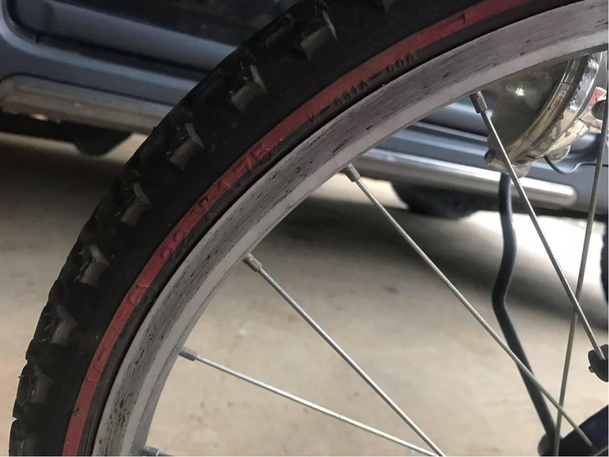 ブリジストン 子供 自転車 青 埼玉県 22インチ_画像6
