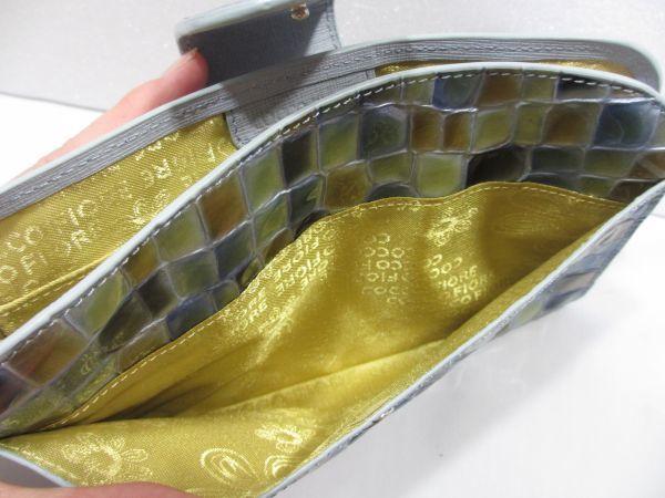【未使用?】COCCO FIORE コルテーゼ マルチケース ネイビー&ゴールド 9170279 コッコフィオーレ レディース 女性 (検)財布_画像5