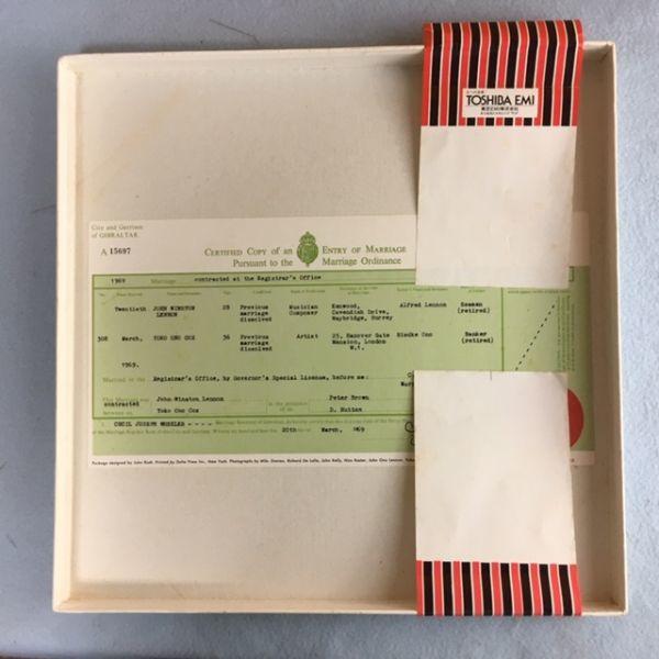 【帯付き完品】ジョン&ヨーコ/ウェデイング・アルバム【EAS-80702】John & Yoko_画像2