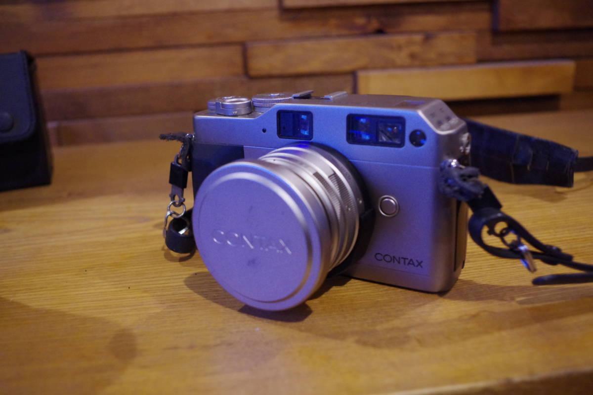 CONTAX G1 フィルムカメラ レンズセット ストロボおまけ_画像2