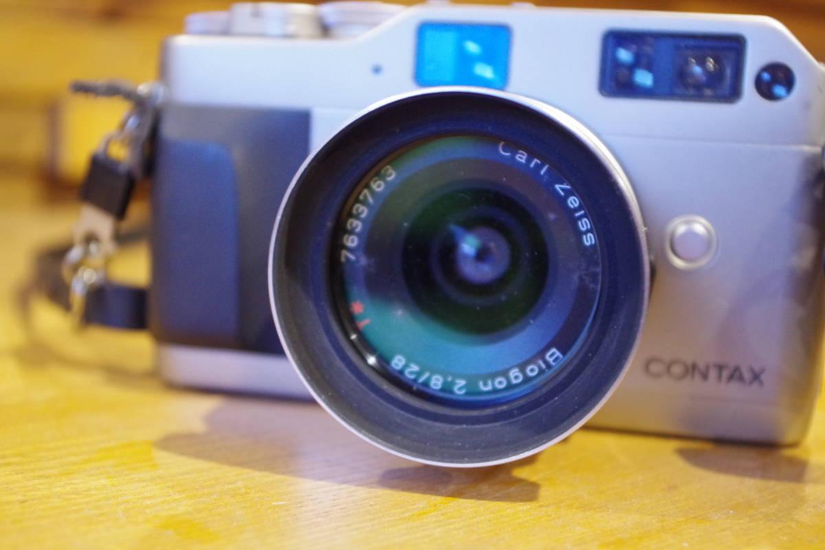 CONTAX G1 フィルムカメラ レンズセット ストロボおまけ_画像4