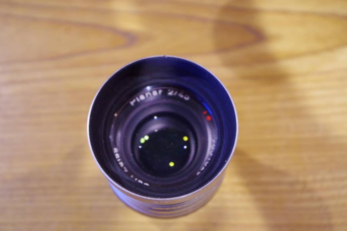 CONTAX G1 フィルムカメラ レンズセット ストロボおまけ_画像5
