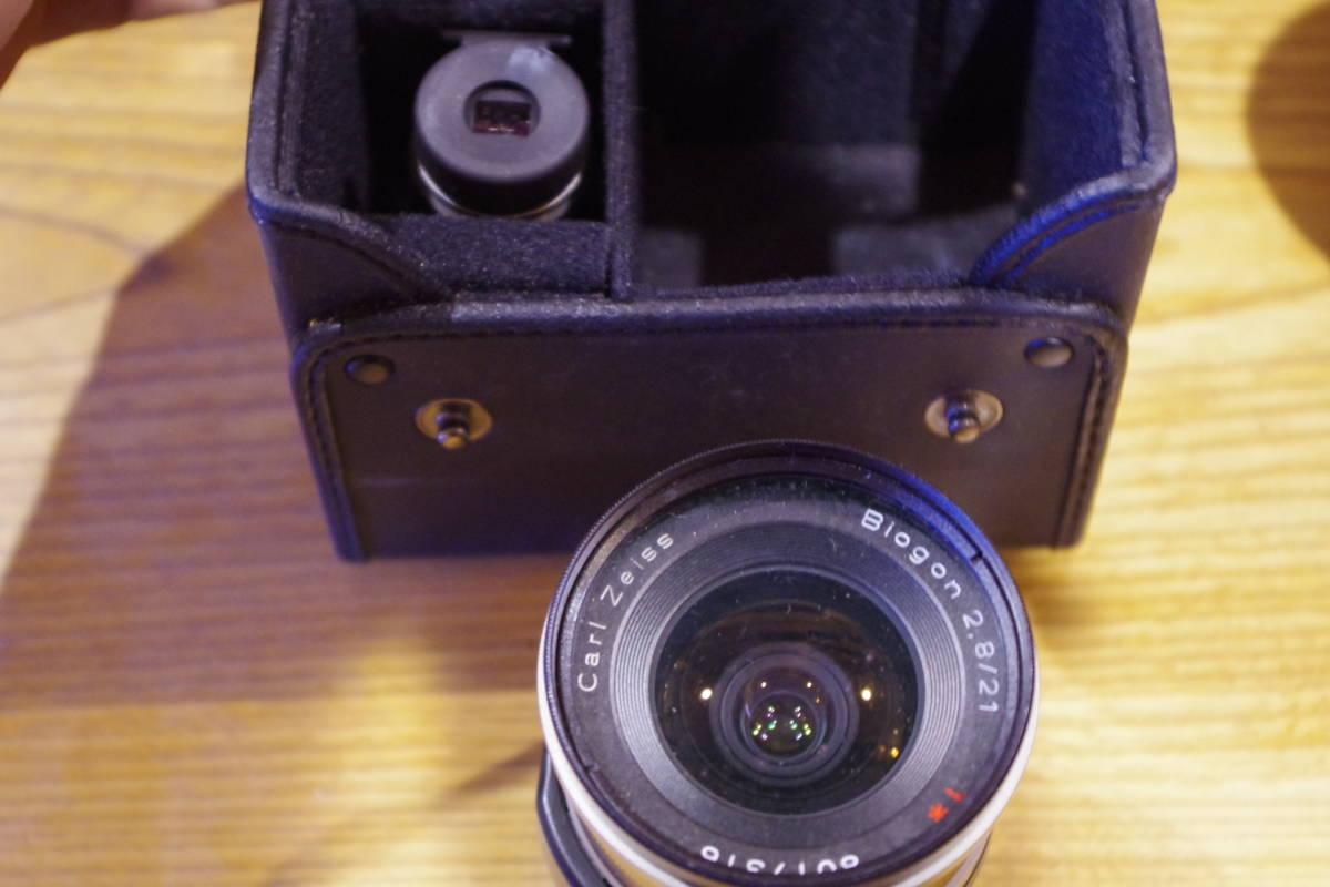 CONTAX G1 フィルムカメラ レンズセット ストロボおまけ_画像6