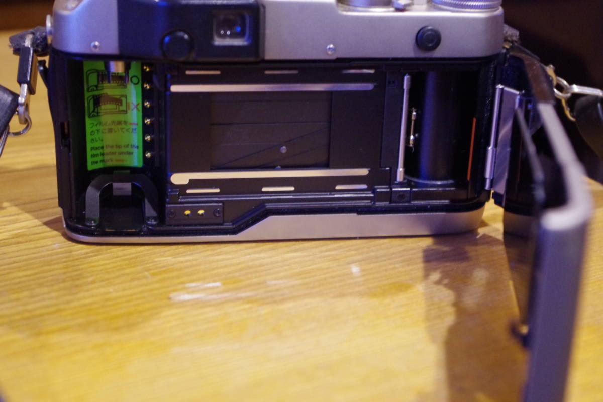 CONTAX G1 フィルムカメラ レンズセット ストロボおまけ_画像9