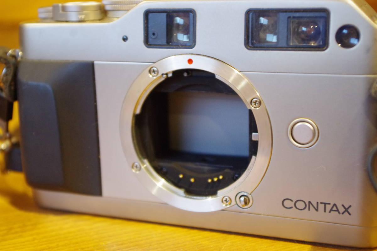 CONTAX G1 フィルムカメラ レンズセット ストロボおまけ_画像10
