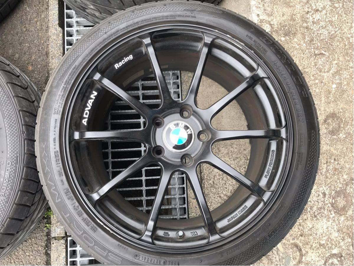 アドバン RZ2 BMW3シリーズ F30 タイヤホイール4本 ヨコハマADVANF31_画像2