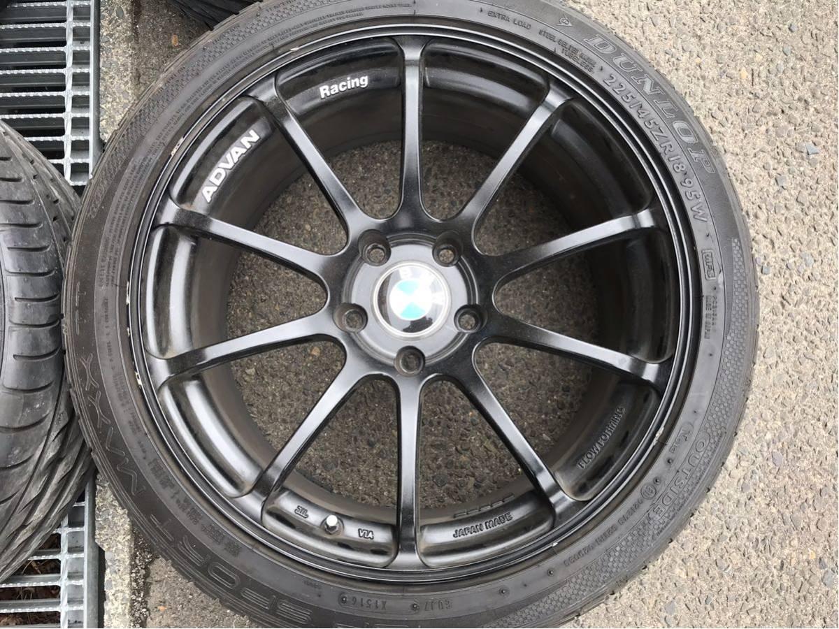 アドバン RZ2 BMW3シリーズ F30 タイヤホイール4本 ヨコハマADVANF31_画像4