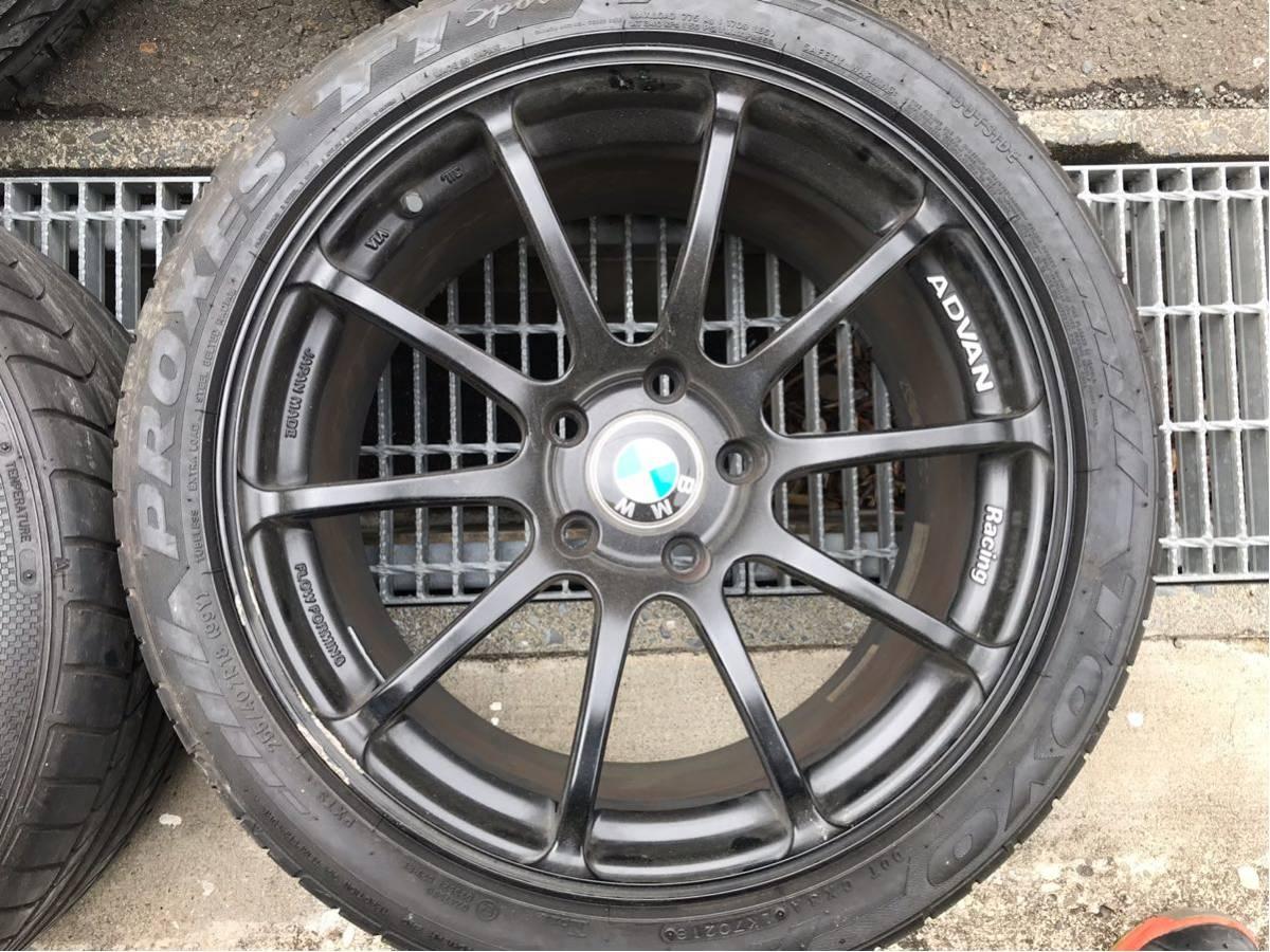 アドバン RZ2 BMW3シリーズ F30 タイヤホイール4本 ヨコハマADVANF31_画像3