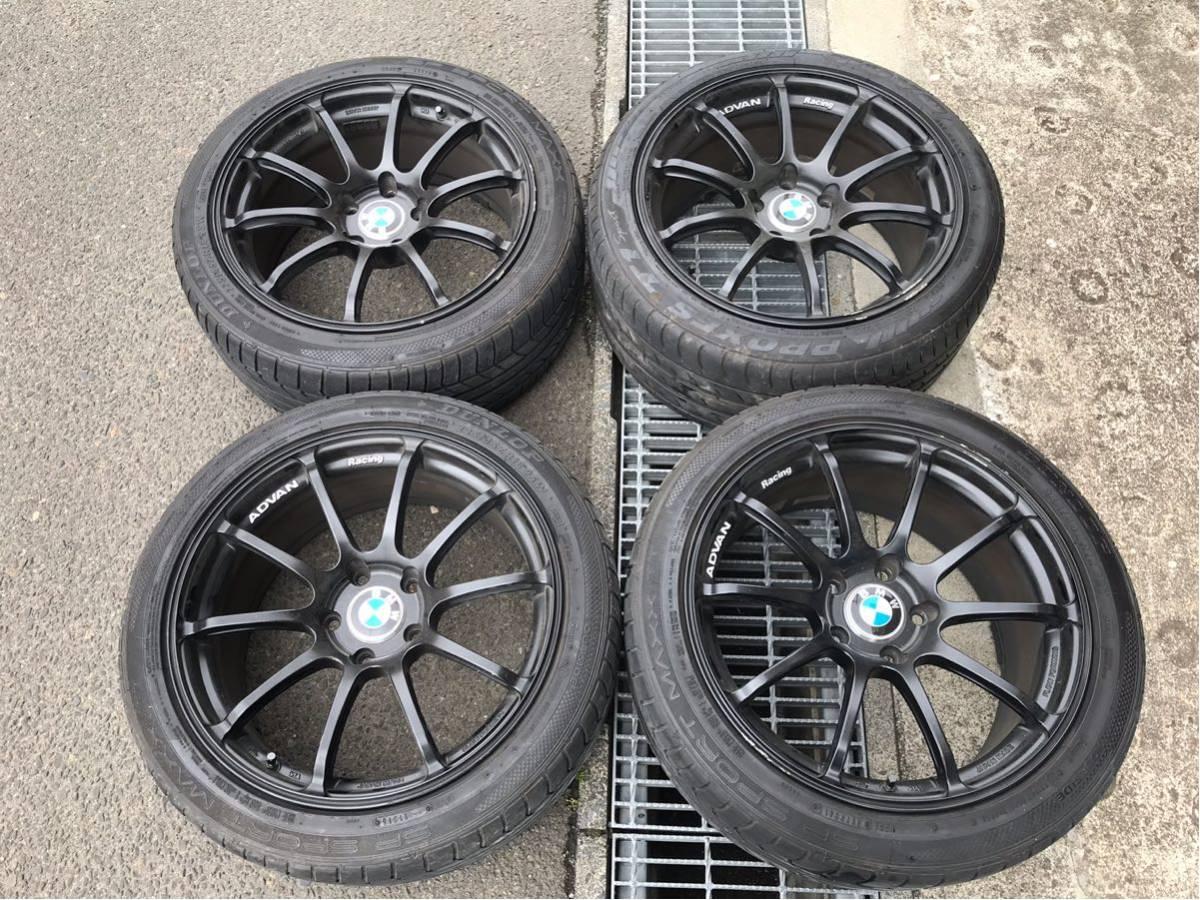 アドバン RZ2 BMW3シリーズ F30 タイヤホイール4本 ヨコハマADVANF31