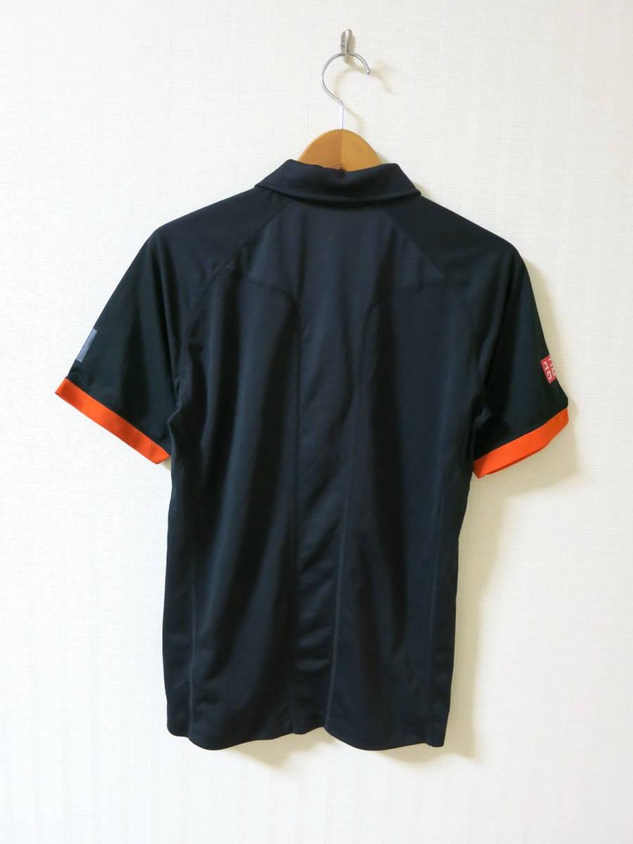 ユニクロ ★ 2015 全仏オープン ノバク ジョコビッチ モデル ポロシャツ S ★ UNIQLO テニス ウェア NDドライEX_画像5