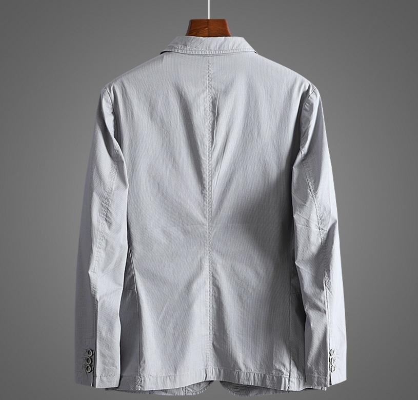 新入荷!春夏新品★100%綿★ 高品質★ 紳士服 メンズ 紳士服 上着 ジャケット 2色 3XL_画像3