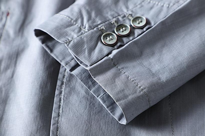 新入荷!春夏新品★100%綿★ 高品質★ 紳士服 メンズ 紳士服 上着 ジャケット 2色 3XL_画像7