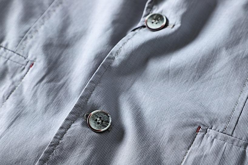 新入荷!春夏新品★100%綿★ 高品質★ 紳士服 メンズ 紳士服 上着 ジャケット 2色 3XL_画像6