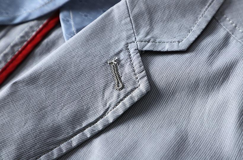 新入荷!春夏新品★100%綿★ 高品質★ 紳士服 メンズ 紳士服 上着 ジャケット 2色 3XL_画像9