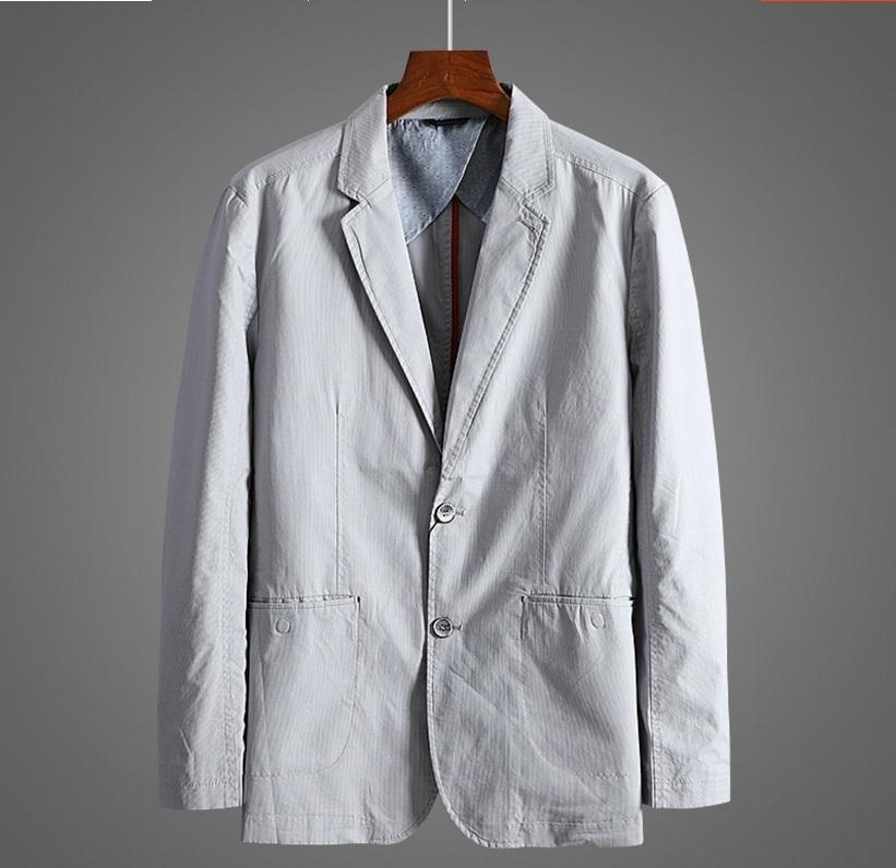 新入荷!春夏新品★100%綿★ 高品質★ 紳士服 メンズ 紳士服 上着 ジャケット 2色 3XL_画像2