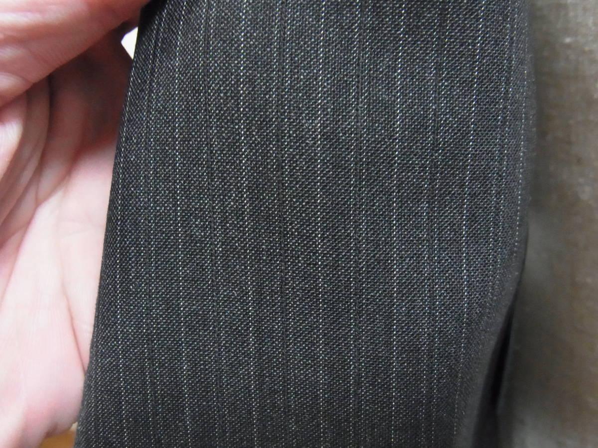 ドルチェ&ガッバーナジャパン正規品 グレーストライプ2ボタンスーツ_画像4