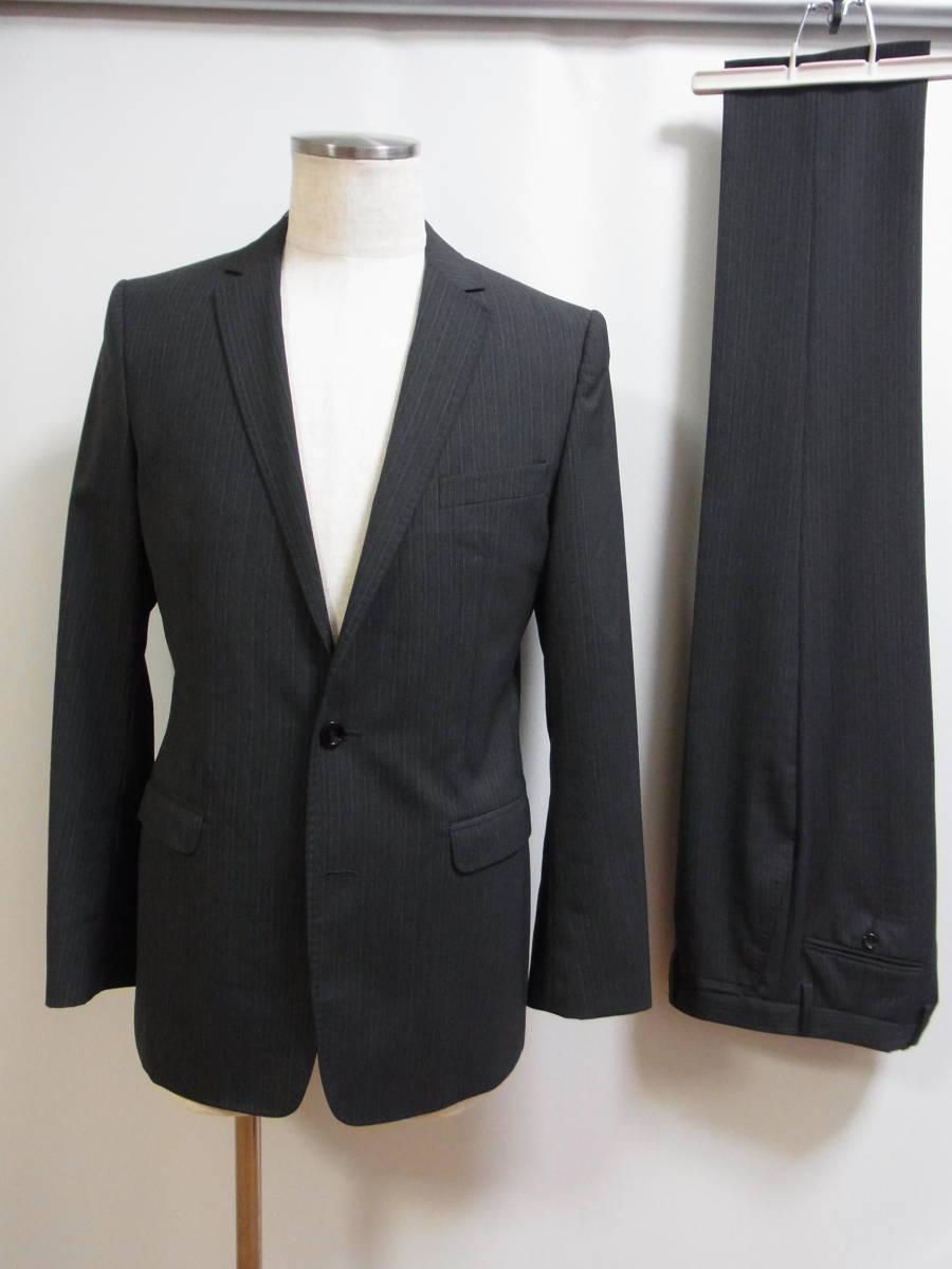 ドルチェ&ガッバーナジャパン正規品 グレーストライプ2ボタンスーツ