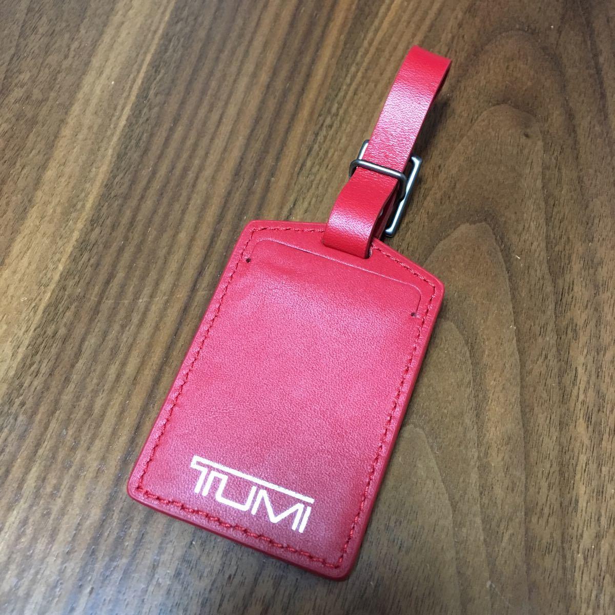 最終値下げ 希少 TUMI 赤タグ ラゲージタグ トゥミ タグ レア アクセントキット_画像2