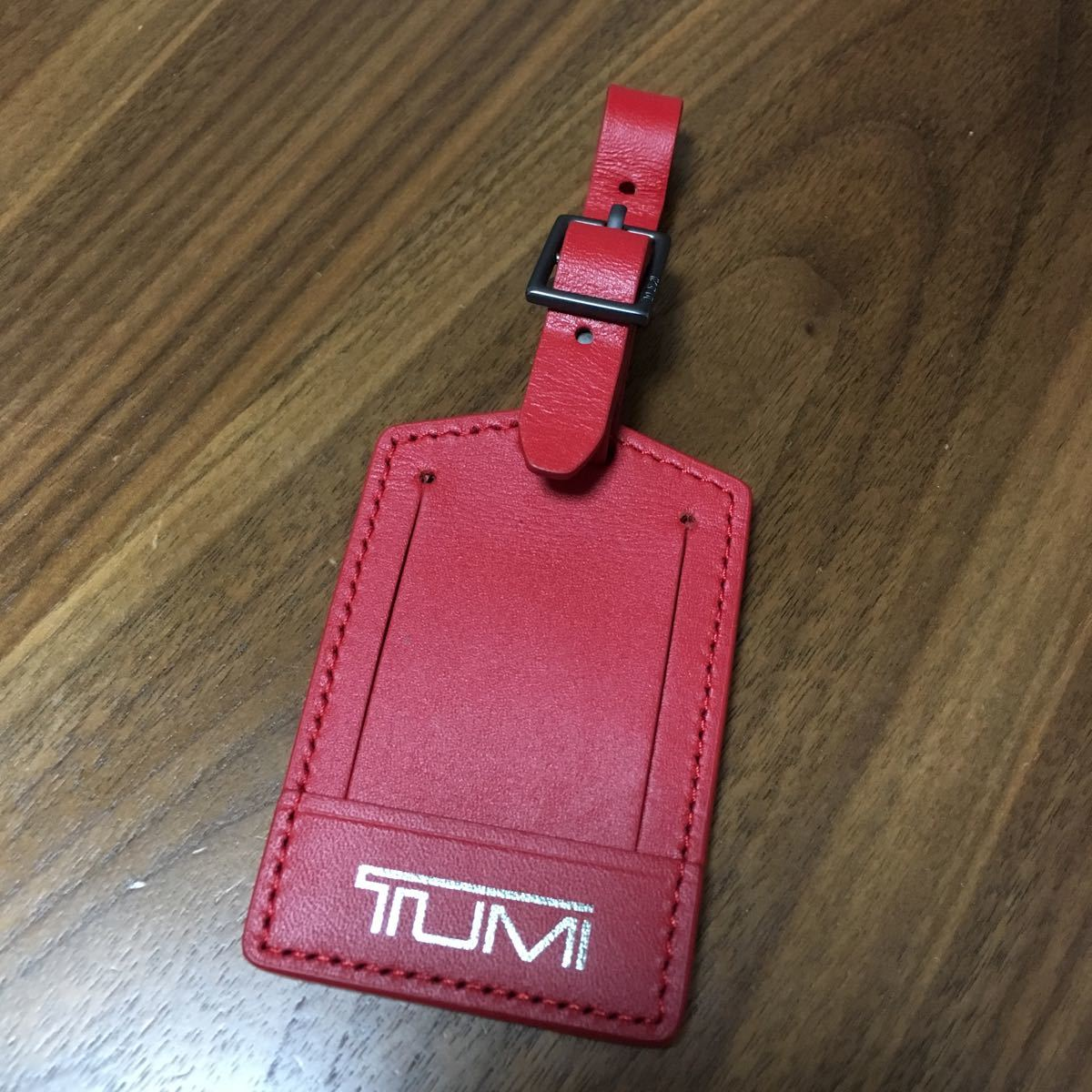 最終値下げ 希少 TUMI 赤タグ ラゲージタグ トゥミ タグ レア アクセントキット