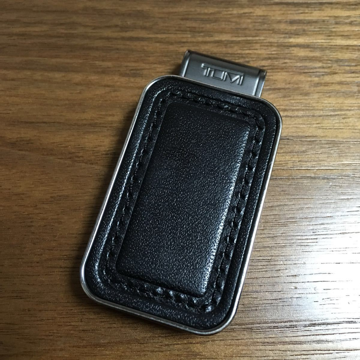 最終値下げ レア TUMI マネークリップ トゥミ タグ ネームタグ ブラック 札 財布 ラゲージタグ