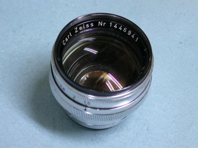 ツァイスイコンContax用カールゾナー50/1.5 #1446941 美品 バルサム切れあり しかしすばらしい写り