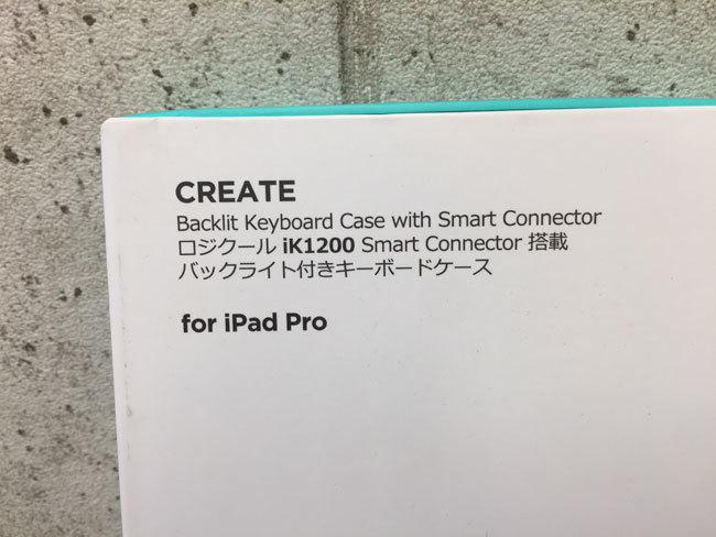 【送料無料1円~】ほぼ未使用 Logicool ロジクール iPad Pro 12.9インチ キーボードケース スマートコネクター搭載 iL1200 C518-3_画像3