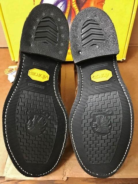 新品 チペワ 黒タグ オイルレザー ブーツ インディアン ネイティブ ワークブーツ アメリカ製 USA製 エンジニアブーツ レザーシューズ 革靴_画像8