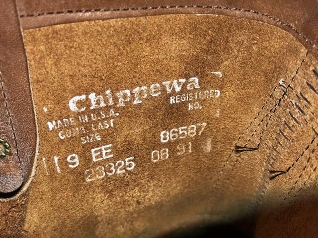 新品 チペワ 黒タグ オイルレザー ブーツ インディアン ネイティブ ワークブーツ アメリカ製 USA製 エンジニアブーツ レザーシューズ 革靴_画像6