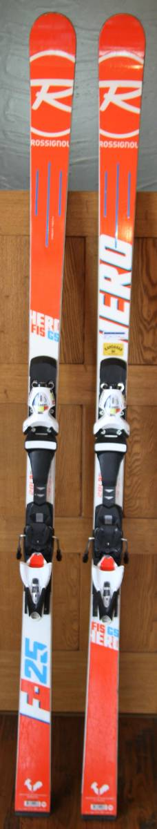 2017 Rossignol HERO R21 GS Skis 182cm 中古