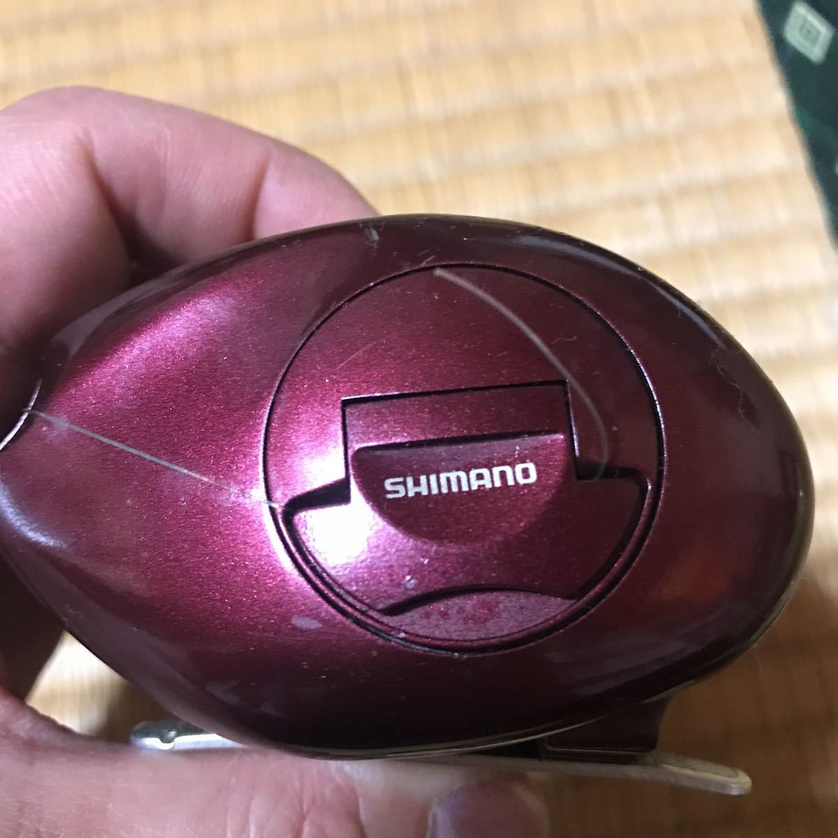 シマノ スコーピオン メタニウム XT Bantam metanium 赤_画像6