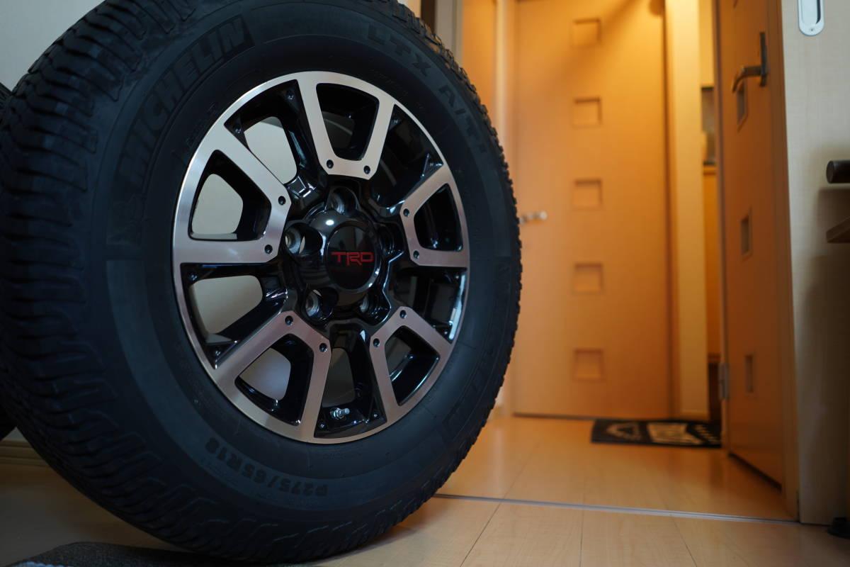 タンドラ TRD 純正 タイヤ ホイール セット TRDpro オフロードパッケージ おまけ付き ランクル セコイア 18インチ